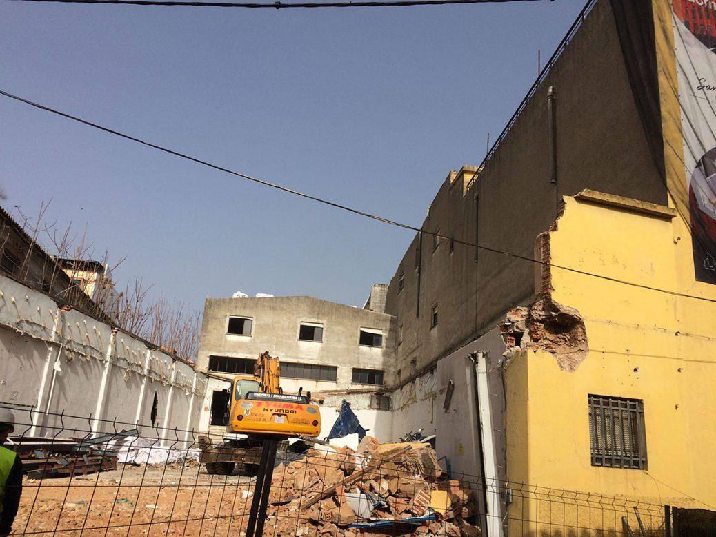 """Finalizan las obras de demolición del Edificio """"San José"""""""
