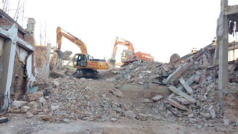Finalizan las obras de demolición del Edificio «San José»