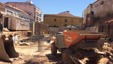 """Evolución de los trabajos de Edificio """"San José"""". Mes 2"""