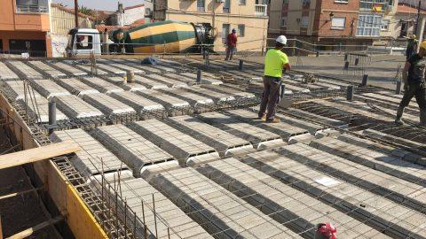 """Evolución de los trabajos de Edificio """"San José"""". Mes 4"""