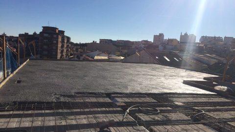 """Evolución de los trabajos de Edificio """"San José"""". Mes 6"""