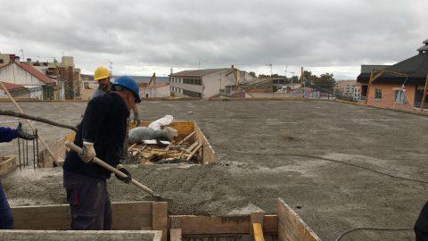 """Evolución de los trabajos de Edificio """"San José"""". Mes 7"""