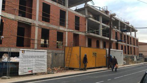 """Evolución de los trabajos de Edificio """"San José"""". Mes 8"""
