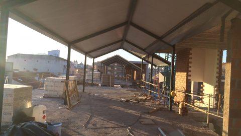 """Evolución de los trabajos de Edificio """"San José"""". Mes 9"""