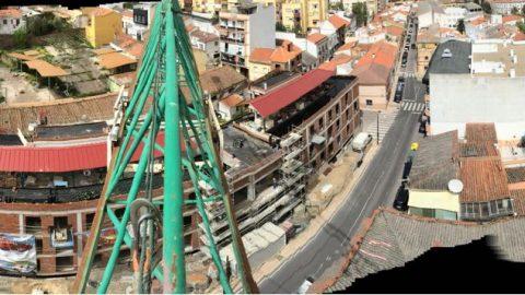 Evolución de los trabajos Edificio «San José». Mes 10