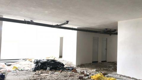 """Evolución de los trabajos del Edificio """"San José"""". Mes 13"""