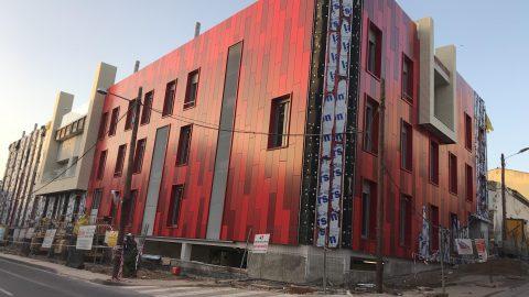 Evolución de los trabajos de Edificio «San José». Mes 18